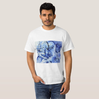 Otherworldly Portal Of Pools Abstract T-Shirt