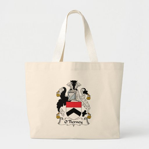 O'Tierney Family Crest Tote Bags