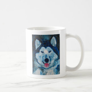 Otis in Blue Mug