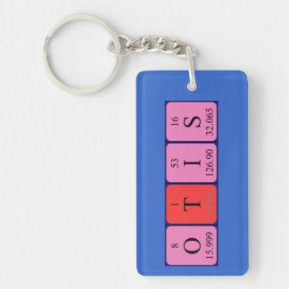 Otis periodic table name keyring
