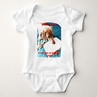Otis Says: Studying Is Great!! Baby Bodysuit