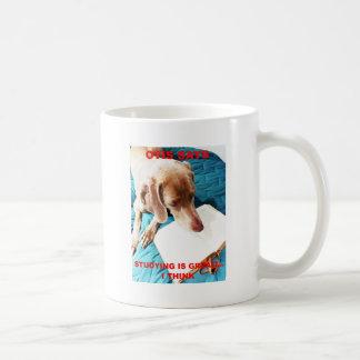 Otis Says: Studying Is Great!! Coffee Mug