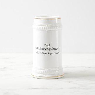 Otolaryngologist Beer Stein