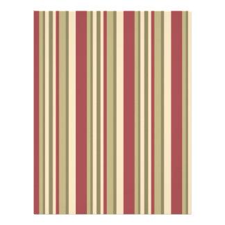 otom stripes 02 Letterhead - scrap paper