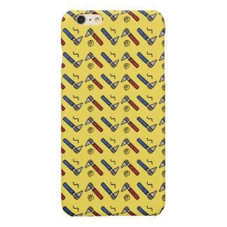 Otoscope iPhone Case (Yellow)