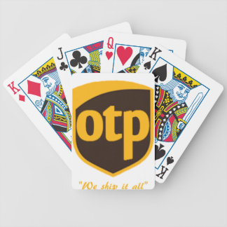 OTP BICYCLE PLAYING CARDS