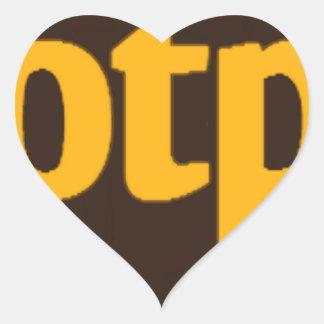 OTP HEART STICKER