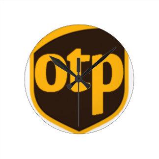 OTP ROUND CLOCK