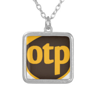 OTP SILVER PLATED NECKLACE