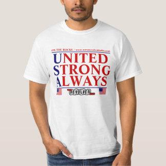OTR Revolver Radio UNITED STRONG ALWAYS T-Shirt