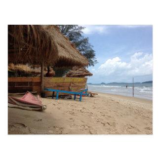 Otres Beach Postcard