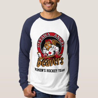 Ottawa Angry Beavers OFFICIAL Slogan T-shirt