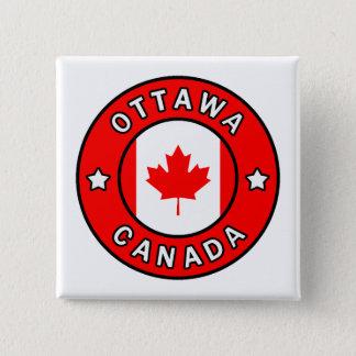 Ottawa Canada 2 Inch Square Button