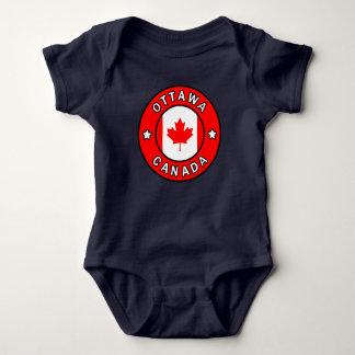 Ottawa Canada Baby Bodysuit