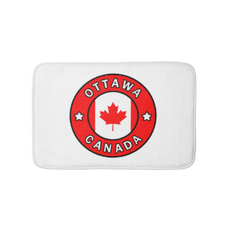 Ottawa Canada Bath Mat