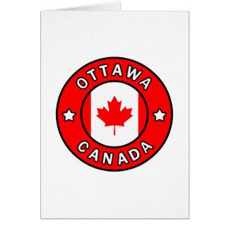 Ottawa Canada Card