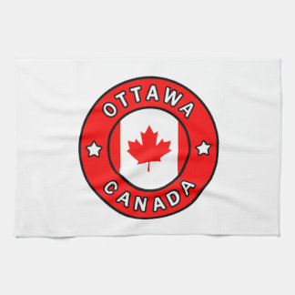 Ottawa Canada Kitchen Towel