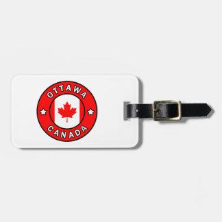 Ottawa Canada Luggage Tag