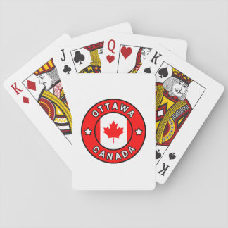Ottawa Canada Playing Cards