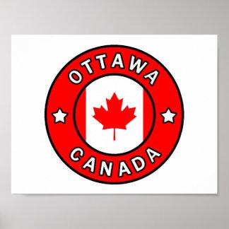 Ottawa Canada Poster
