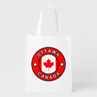 Ottawa Canada Reusable Grocery Bag