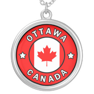 Ottawa Canada Silver Plated Necklace
