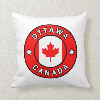 Ottawa Canada Throw Pillow