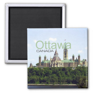 Ottawa Canada Travel Souvenir Fridge Magnet