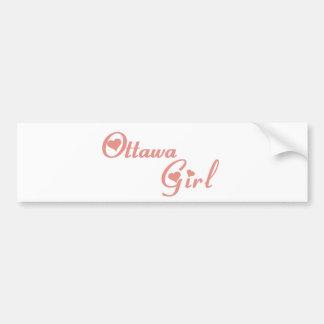 Ottawa Girl Bumper Sticker