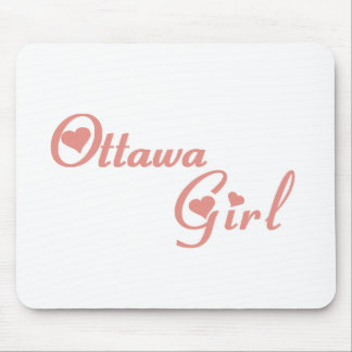 Ottawa Girl Mouse Pad