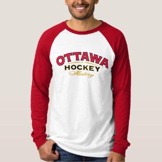 Ottawa Hockey History Long Sleeve T-Shirt