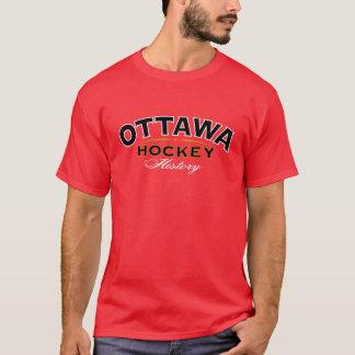Ottawa Hockey History Red T-Shirt