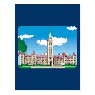 Ottawa Parliament Building Postcard
