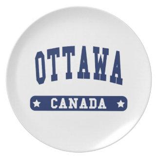 Ottawa Plate