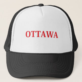 OTTAWA RED TRUCKER HAT