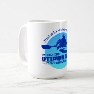 Ottawa River (Blue) Coffee Mug