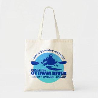 Ottawa River (Blue) Tote Bag