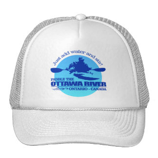 Ottawa River (Blue) Trucker Hat