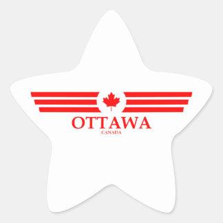 OTTAWA STAR STICKER