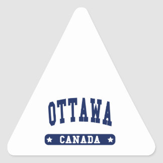 Ottawa Triangle Sticker