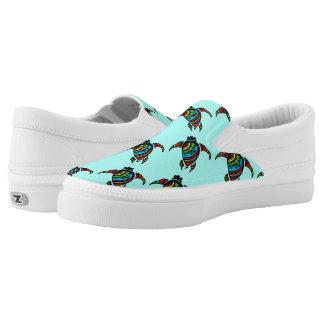 Ottawa Turtle Design Comfortable Slip-on Shoes