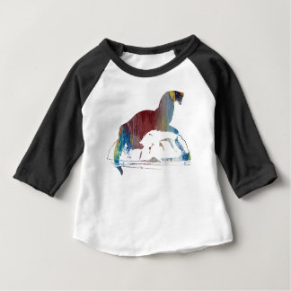 Otter art baby T-Shirt