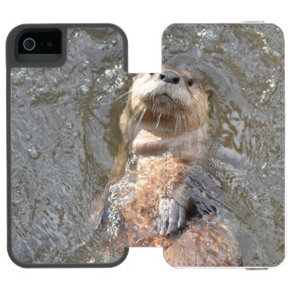 Otter Back Float Incipio Watson™ iPhone 5 Wallet Case