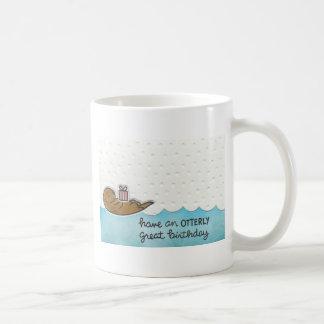 Otter Birthday Coffee Mug