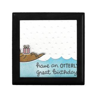 Otter Birthday Jewelry Box