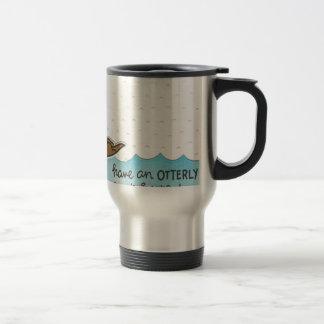Otter Birthday Travel Mug