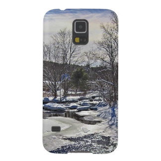 Otter Brook Winter Scene Cases For Galaxy S5
