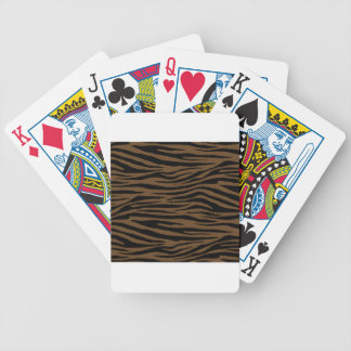 Otter Brown Tiger Bicycle Playing Cards