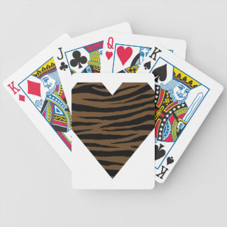 Otter Brown Tiger GH Bicycle Playing Cards