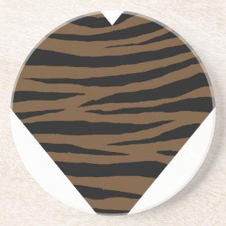Otter Brown Tiger GH Coaster